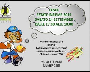 GRANDE FESTA FINALE DELL'ESTATE INSIEME!!!!