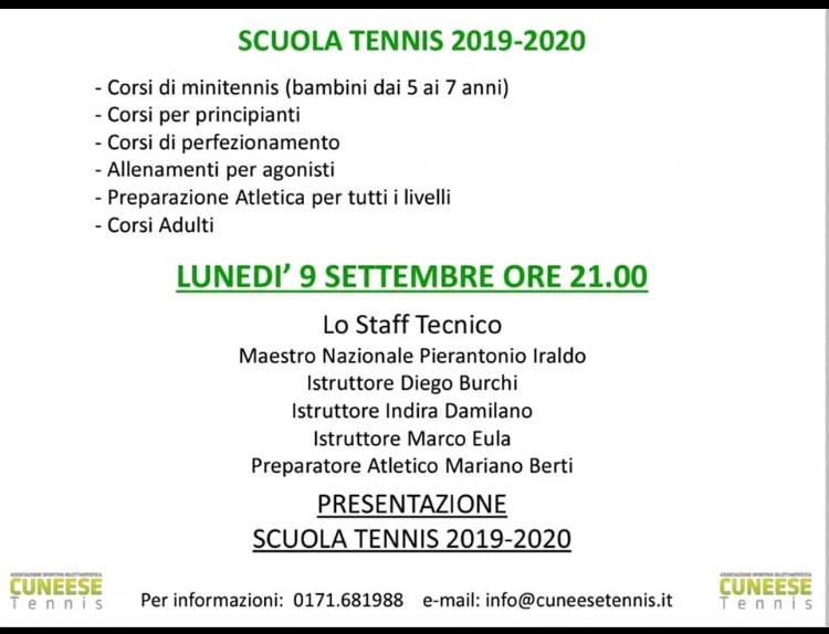 Trofeotennis It Calendario Tornei.Cuneese Tennis Cuneese Tennis